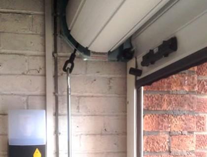Roller Garage Door installation in Farnborough