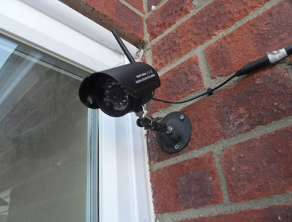 Wireless Alarm & CCTV installation in Farnborough