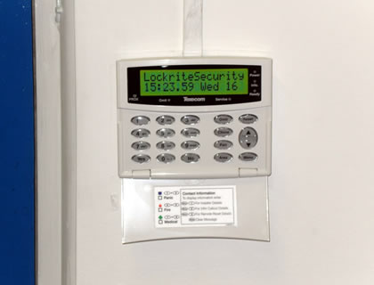 Monitored commercial alarm installation in Bracknell