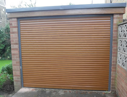 Roller Garage Door installation in Alton, Hampshire