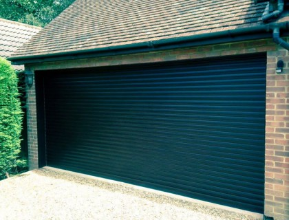 Double Roller Garage Door installed in Camberley