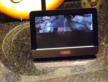 ABUS Wireless Home CCTV installation in Yateley