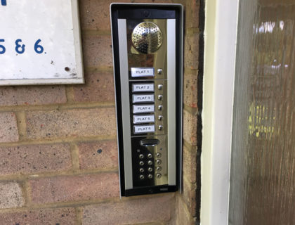 Voice-Only Intercom System for Flats in Farnborough