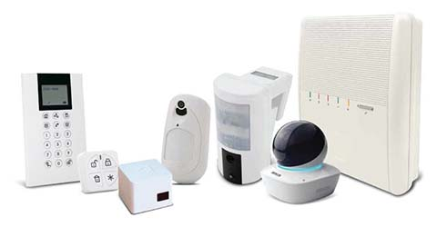Agility 4 Wireless Home Alarm